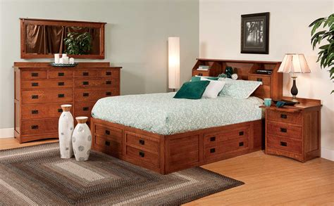 Handmade Bedroom Furniture - jacobson bed amish direct furniture