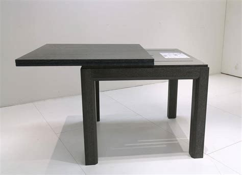 table salle a manger extensible table carree extensible design