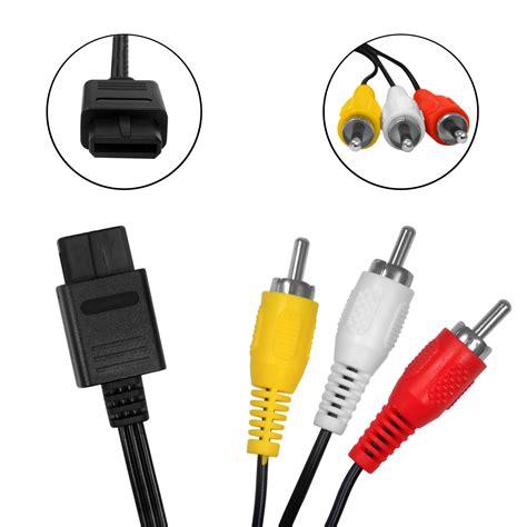 Kabel Tv av tv kabel f 252 r nintendo gamecube nintendo64