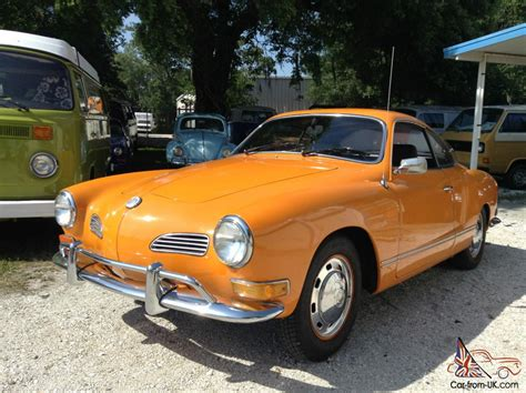 1971 volkswagen karmann ghia vw ghia with 81 935 original