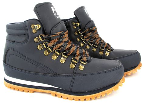 mens winter walking hiking boots trainers work shoes gents