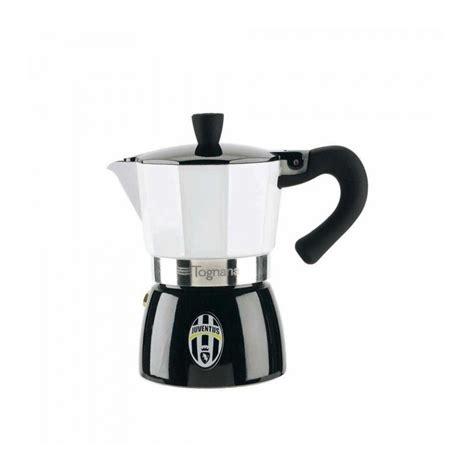 Juventus Original 3 moka caffettiera fc juventus original tognana 3 tazze in