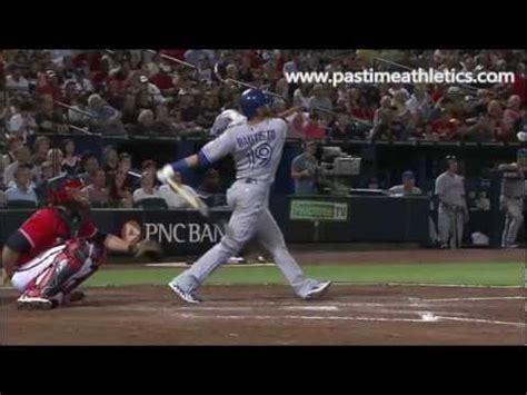 baseball swing slow motion jose bautista slow motion home run baseball swing