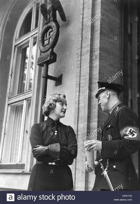 buy house in munich unity mitford in front of the brown house in munich 1937