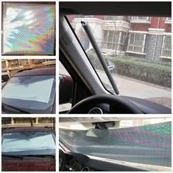 Car Interior Sun Shades Retractable Car Suv Front Rear Windshield Sunshade Shade