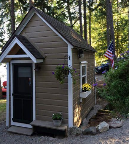 tool shed transformed tiny house design bunkhouse shed a 1950s tool shed was converted into a