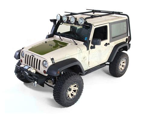 rugged ridge roof rack jk rugged ridge 11703 21 sherpa roof rack kit crossbar adapters crossbars 07 16 jeep 2 door