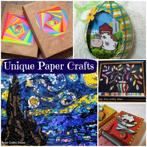 Unique Paper Crafts - 5 unique paper crafts exclusively from the sitcom