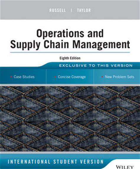 Mba In Operations And Supply Chain Management In Usa by Image Gallery Operations Supply Chain Management