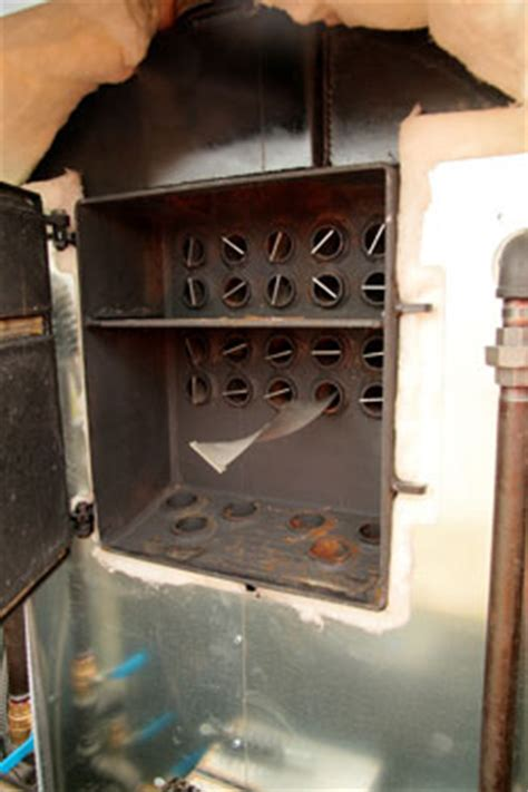 canadian outdoor wood furnace heating technology