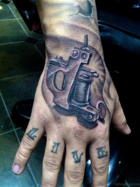 gun hand tattoo 28 funky gun tattoos on