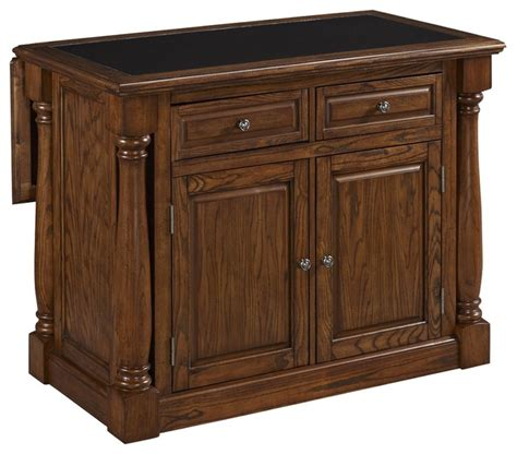 oak kitchen island with granite top monarch oak kitchen island with granite top traditional