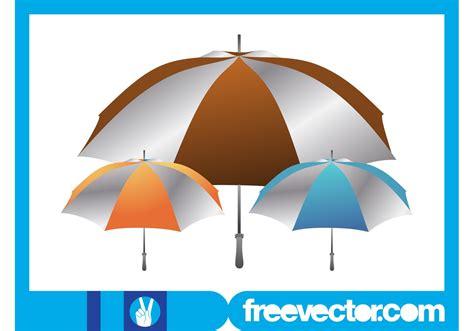 umbrella layout vector umbrellas layout download free vector art stock