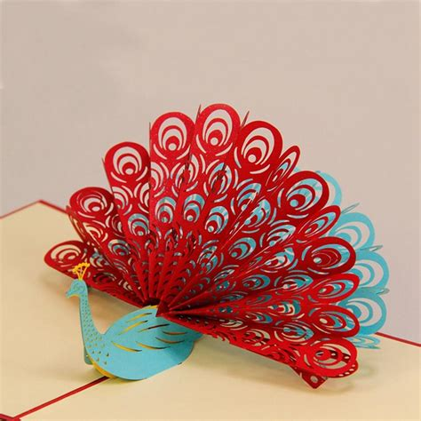 Gift Card Sles Free - card invitation design ideas handmade greeting cards for sale red blue peacock laser