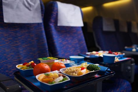 best airline offers which airlines offer the healthiest airplane food