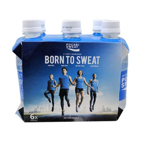 Pocari Sweat 6s jual pocari sweat born to sweat 6 botol 350 ml