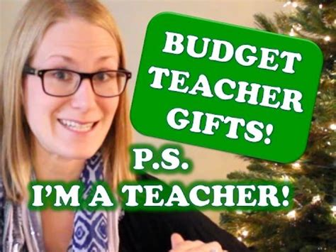 middle school christmas ideas for teachers budget gift ideas from a