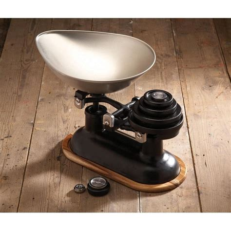 Cast Iron Kitchen Scales And Weights by Kitchen Craft Imperial Stacking Weights For