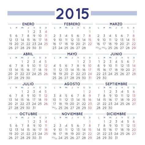 Calendario 2015 Colombia Almanaque Bristol 2015 Para Colombia