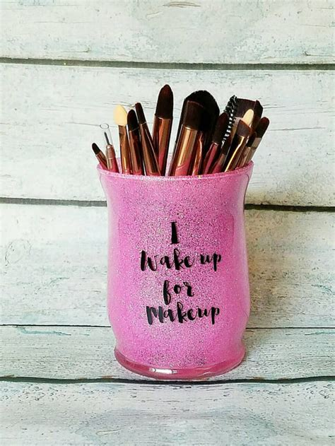 Sassy Gliter Brush Holder Makeup Brush Holder Glitter Makeup Brush Holder Make Up