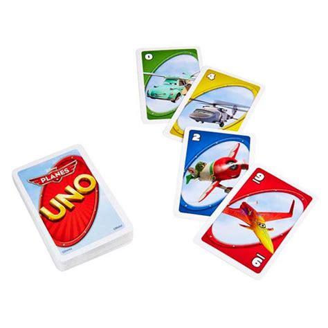 Uno Card Planes disney planes uno card mattel planes at