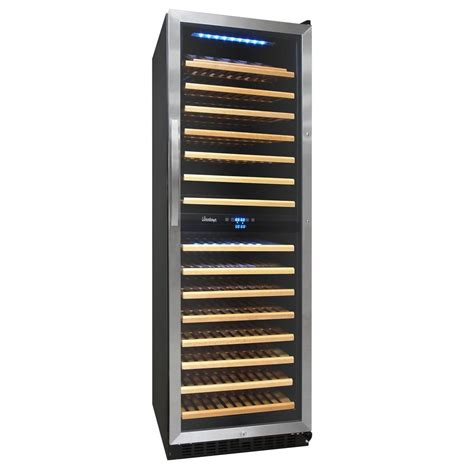 cabinet mount wine cooler vinotemp vt 6ted wb 6 bottle wall mounted thermoelectric