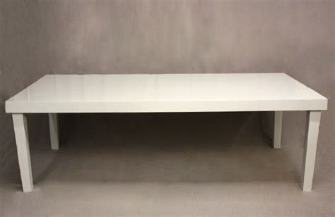 Amalfi Table L by Signature Rentals White Amalfi Tables Benches