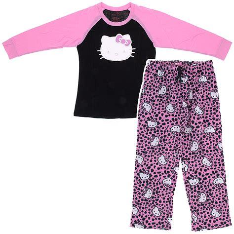 Pajamas Hello Pink hello footie pajamas for