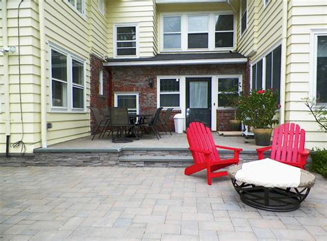 curb appeal design llc custom patio construction and installation in nj curb
