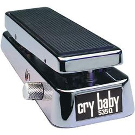 Dunlop 535q Wah Chrome 535q cry baby chrome limited edition dunlop audiofanzine