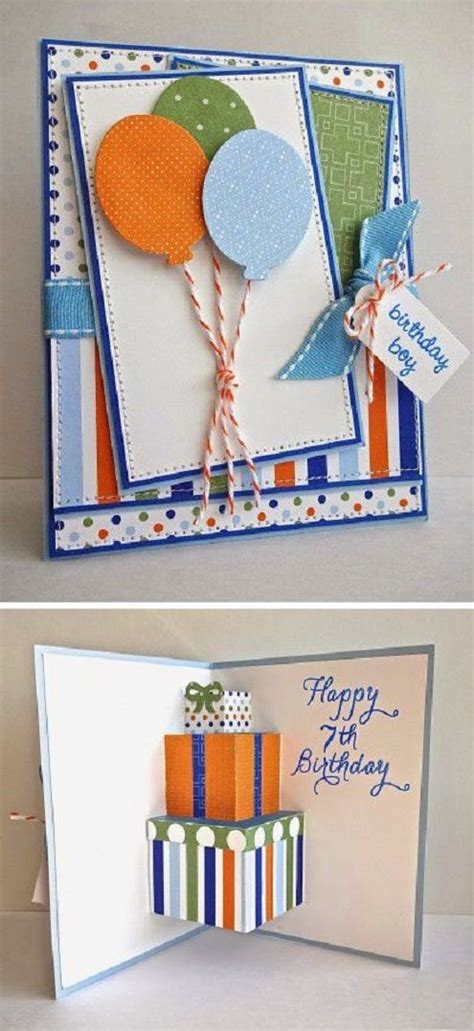 Handmade Birthday Present For Boyfriend - handmade birthday cards birthday cards and card ideas on