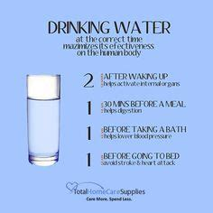 water before bed stroke awareness on pinterest stroke recovery diabetes