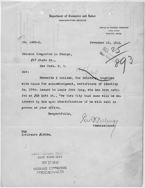 identity certification letter file letter from the commissioner transmitting a
