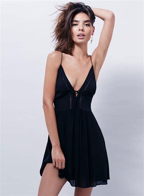 v neck spaghetti mini dress s solid spaghetti v neck sleeveless mini dress