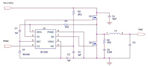 dual transistor flyback driver dual mosfet driver