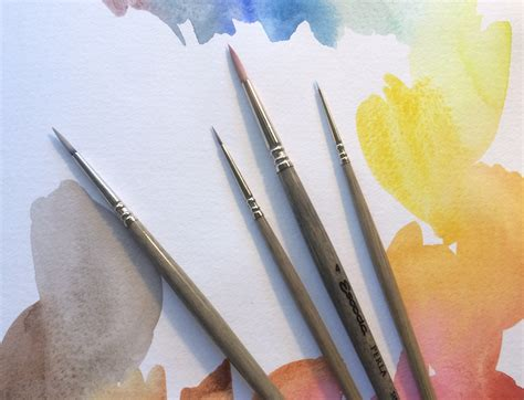 water color brushes watercolor synthetic brushes what to look for when to