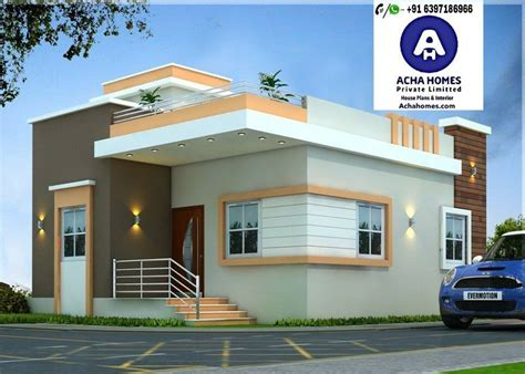 bhk modern home design india  sq ft modern homes