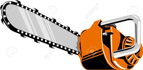clipart vectors chainsaw clipart vector pencil and in color chainsaw