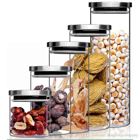 Airtight Kitchen Canisters by Spin Lock Airtight Canisters Transparent High