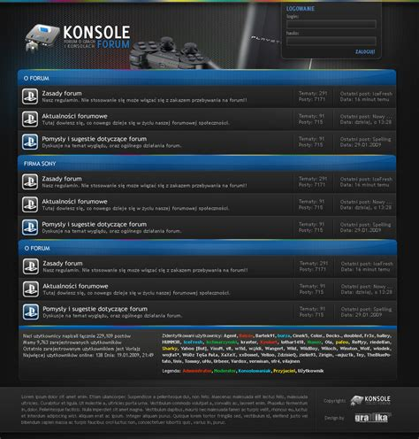 console forum console forum design by tutsii on deviantart