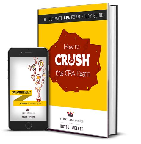 cpa exam which section to take first crush the cpa study guide review plus exclusive bonuses