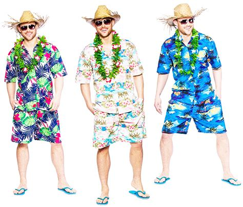 beach themed clothing party hawaiian beach mens fancy dress tropical hawaii luau hula