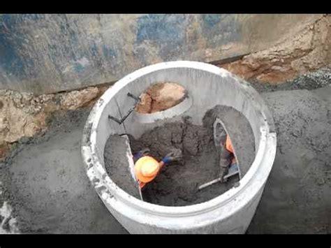 manhole benching forming manhole bench youtube