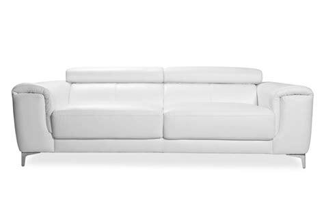 canape blanc pas cher photos canap 233 convertible cuir blanc pas cher