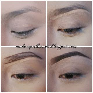tutorial alis eyeshadow tutorial cara membuat alis tutorial how to make eyebrow