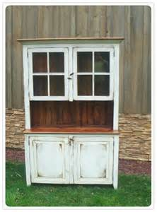 amish made barnwood hutch in flea market style