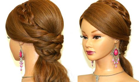 evening hairstyles youtube easy prom hairstyles for long hair easy prom hairstyle for