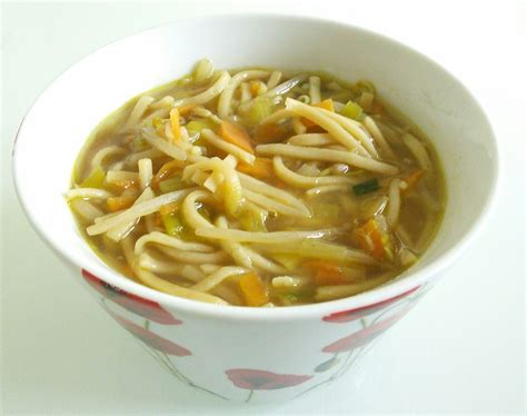 quick and easy vegetable noodle soup recipe all recipes uk