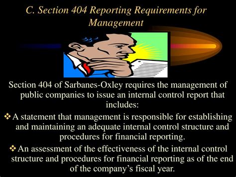 Section Requirements by Ppt Chapter 10 Section 404 Audits Of