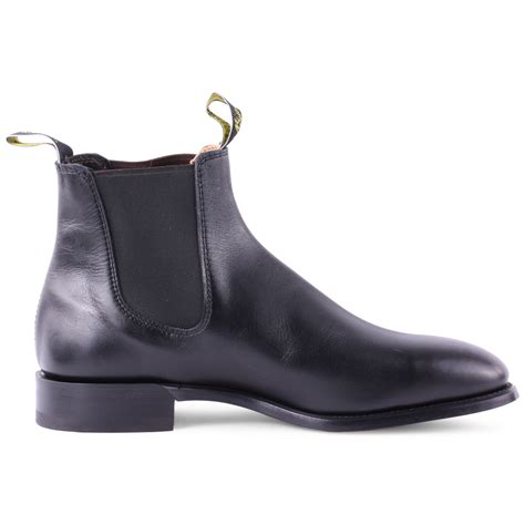 R A Shoes Leather r m williams craftsman mens leather black leather